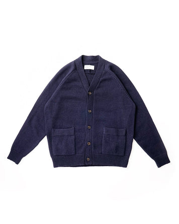 Vince Cardigan Recycled Wool Navy