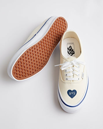 TdN x AMS Vans Vault Authentic LX Classic White
