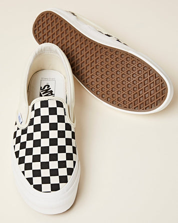 UA Slip-on Checkerboard Black / White