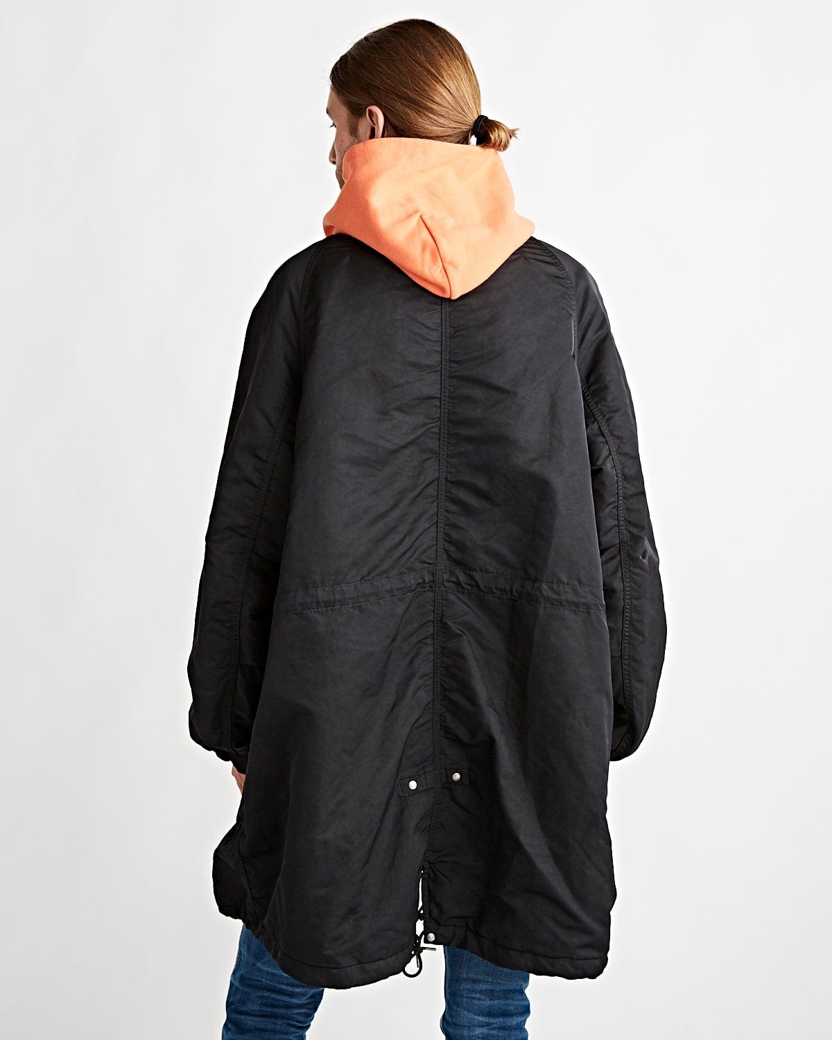 Six-Five Fishtail Parka Black