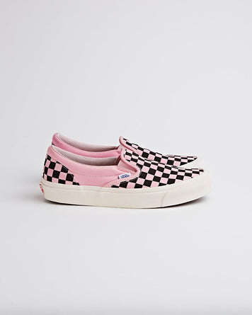 Vans OG Classic Slip On Checkerboard Bubblegum