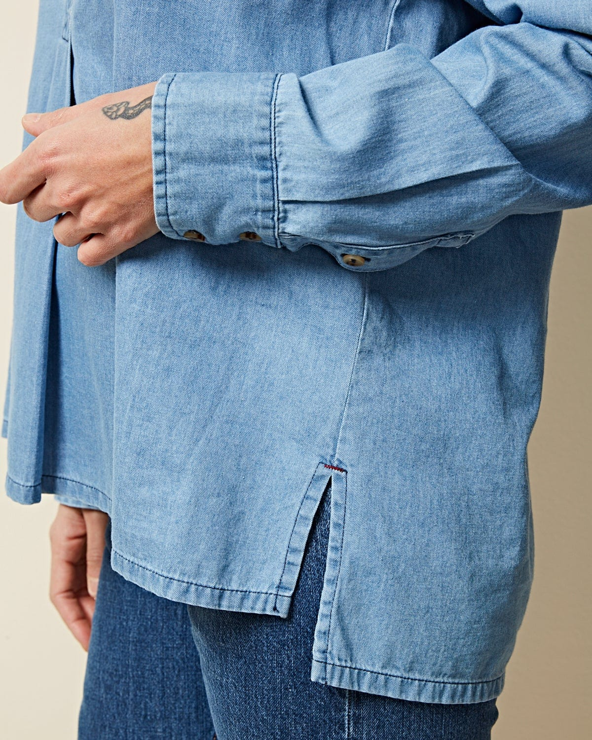 Bexley Blue Jean Shirt