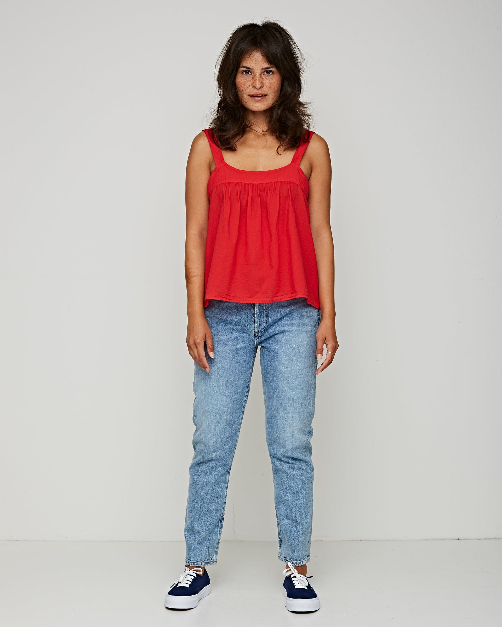 Zoe Top Red Torch