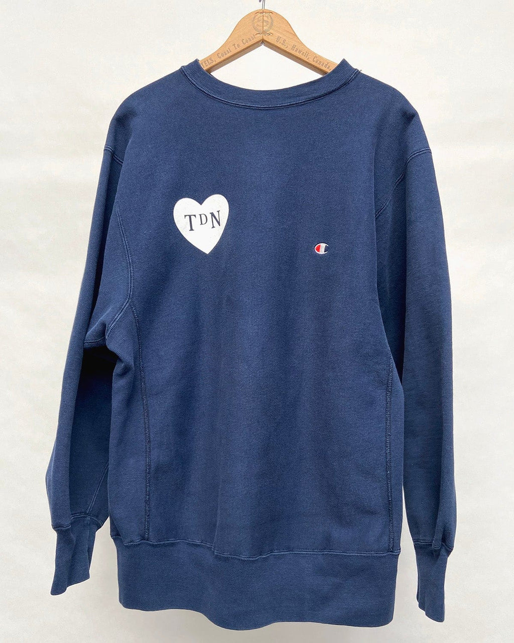 SOLD OUT: Vintage Champion Made In USA Navy