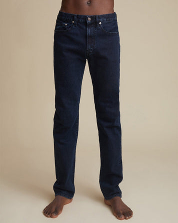 TM005 Tapered Fit Blue Black