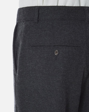 Military Chino Wool Marl II Charcoal
