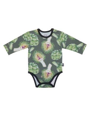 VAUVAN BODY, Artichoke Green