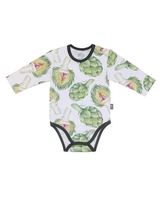 VAUVAN BODY, Artichoke White