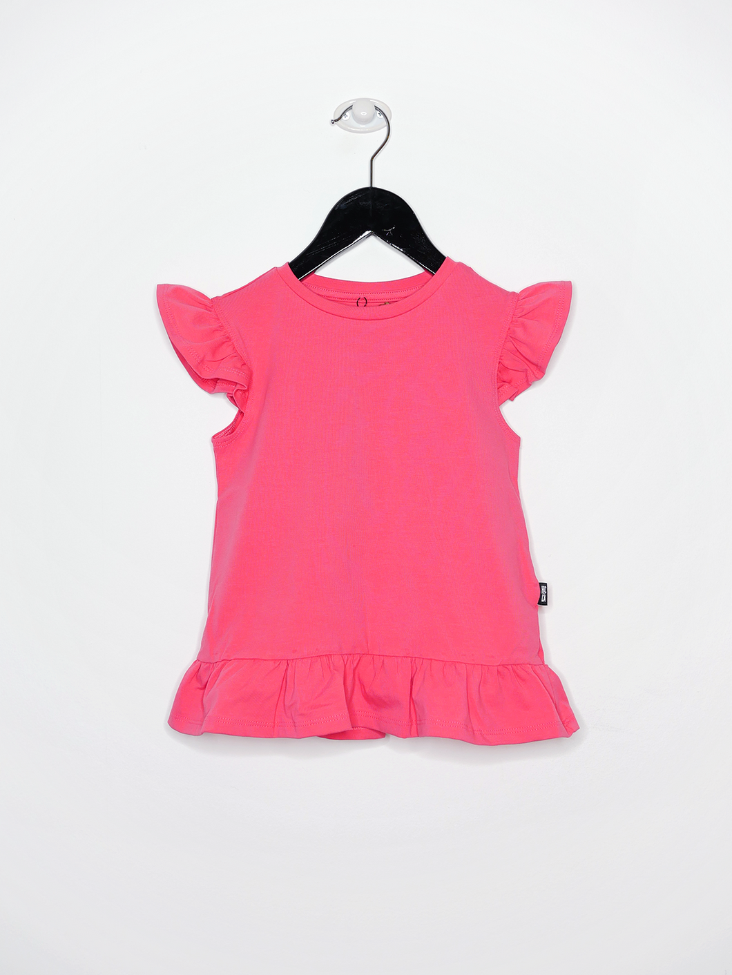 FRILL TOP, Coral