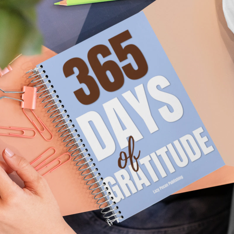 365 Days of Gratitude Journal - 6x9 Spiral Bound