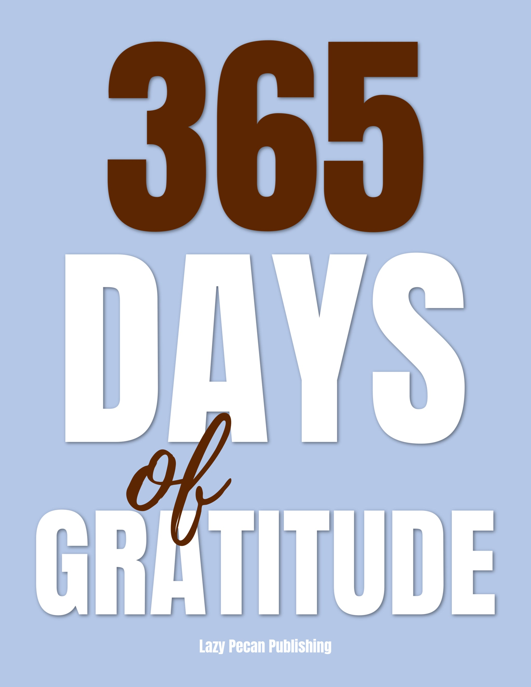 365 Days of Gratitude Journal - Coil Bound