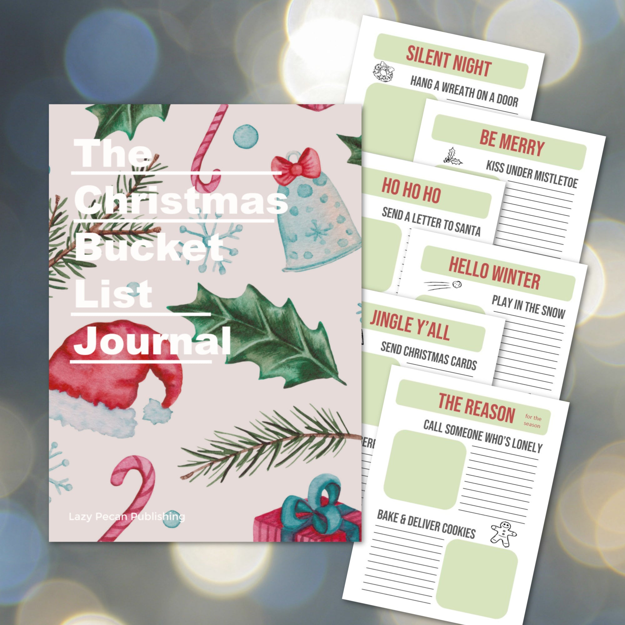 Christmas Bucket List Journal - DIGITAL