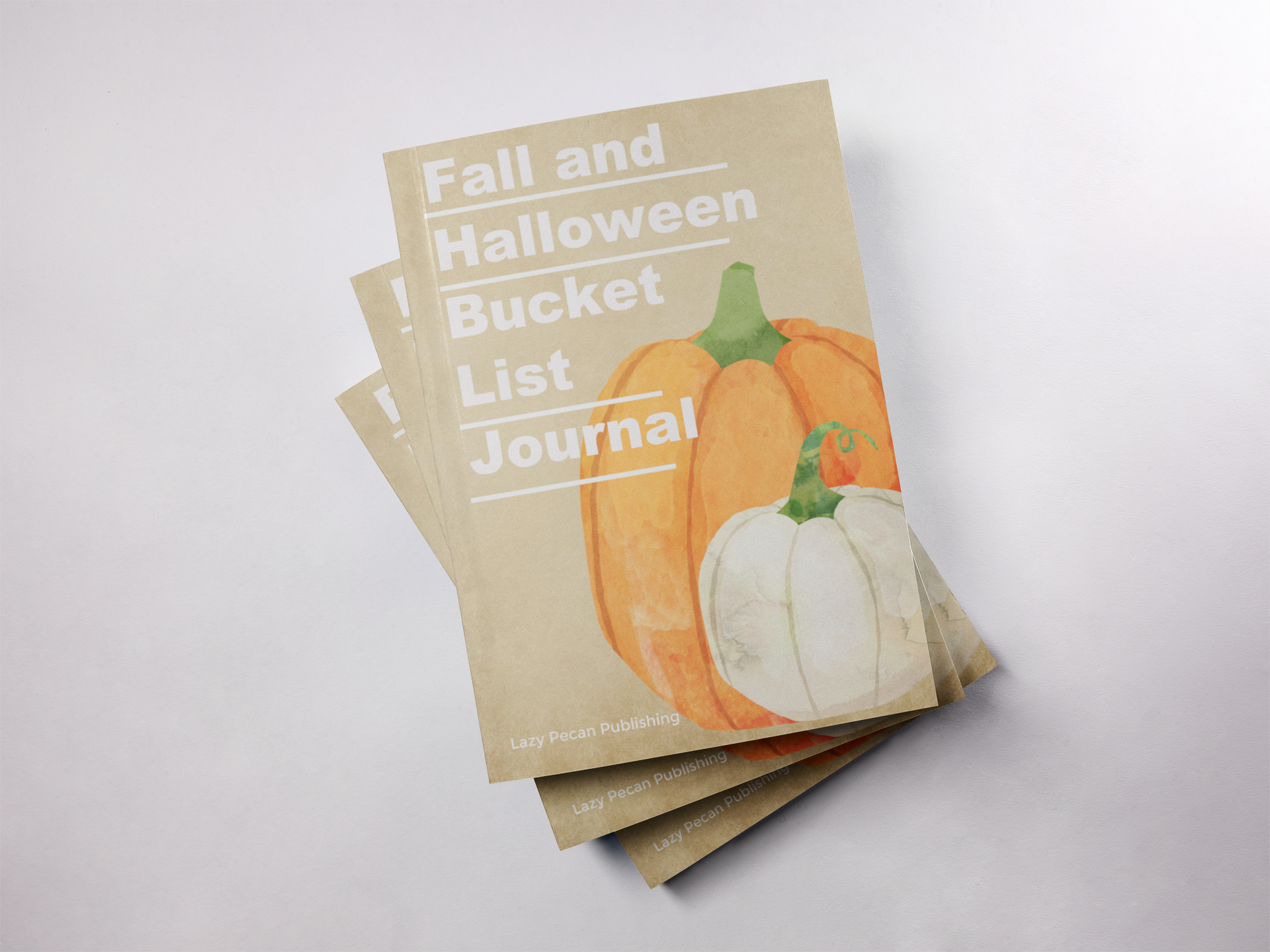 Fall & Halloween Bucket List Journal