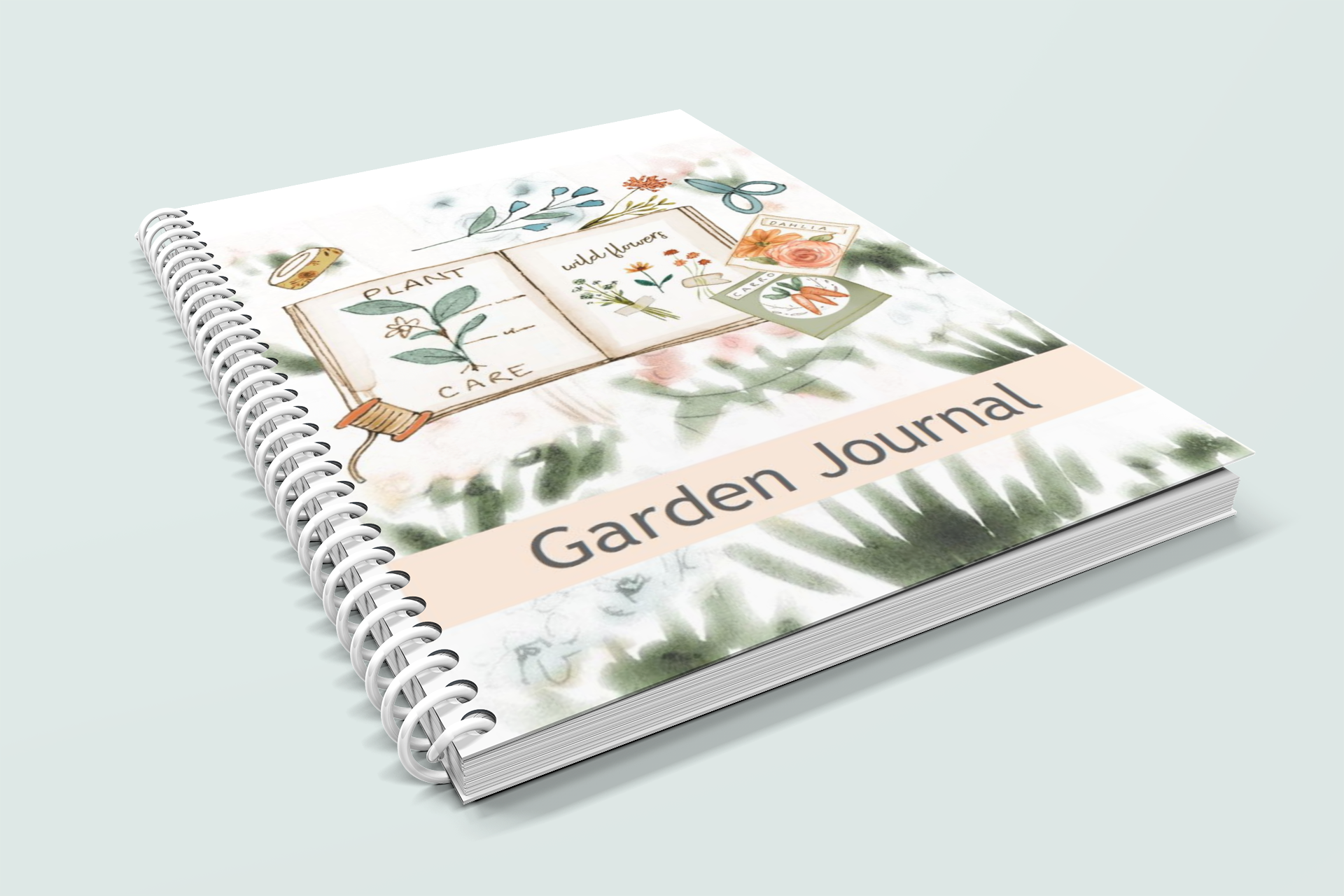 The Gardening Journal - Coil Bound