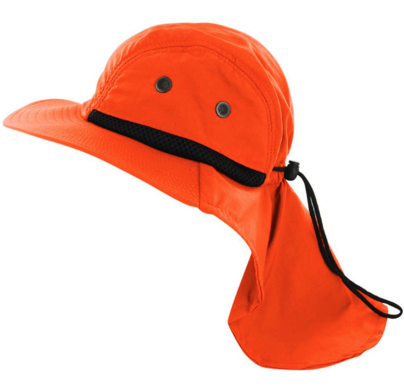 Downright Cool Sun Hat with Neck Cover