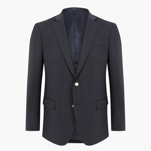 Altınyıldız Regular Short Fit Dark Navy %43 Wool Blazer