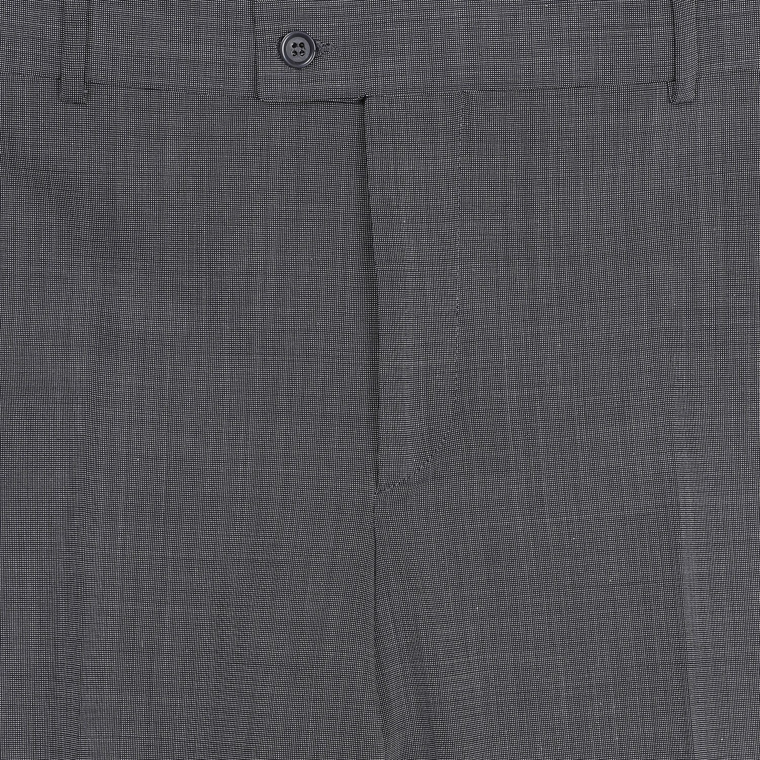 Altınyıldız Regular Fit End-on-end Grey&Black Wool Trouser