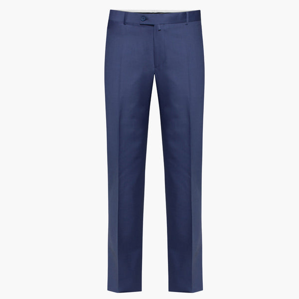 Regular Fit Altınyıldız Blue Wool Trouser