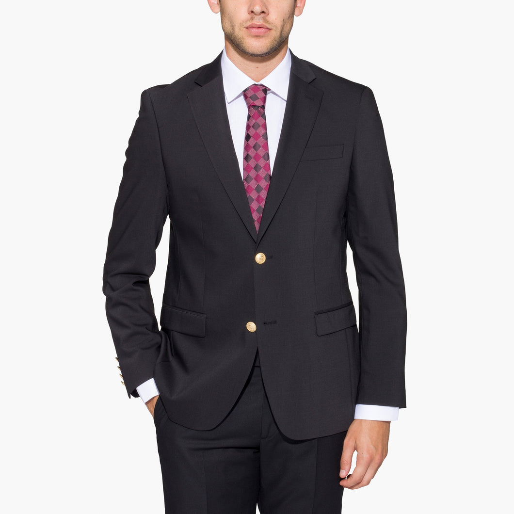 Altınyıldız Slim Fit Black %43 Wool Blazer