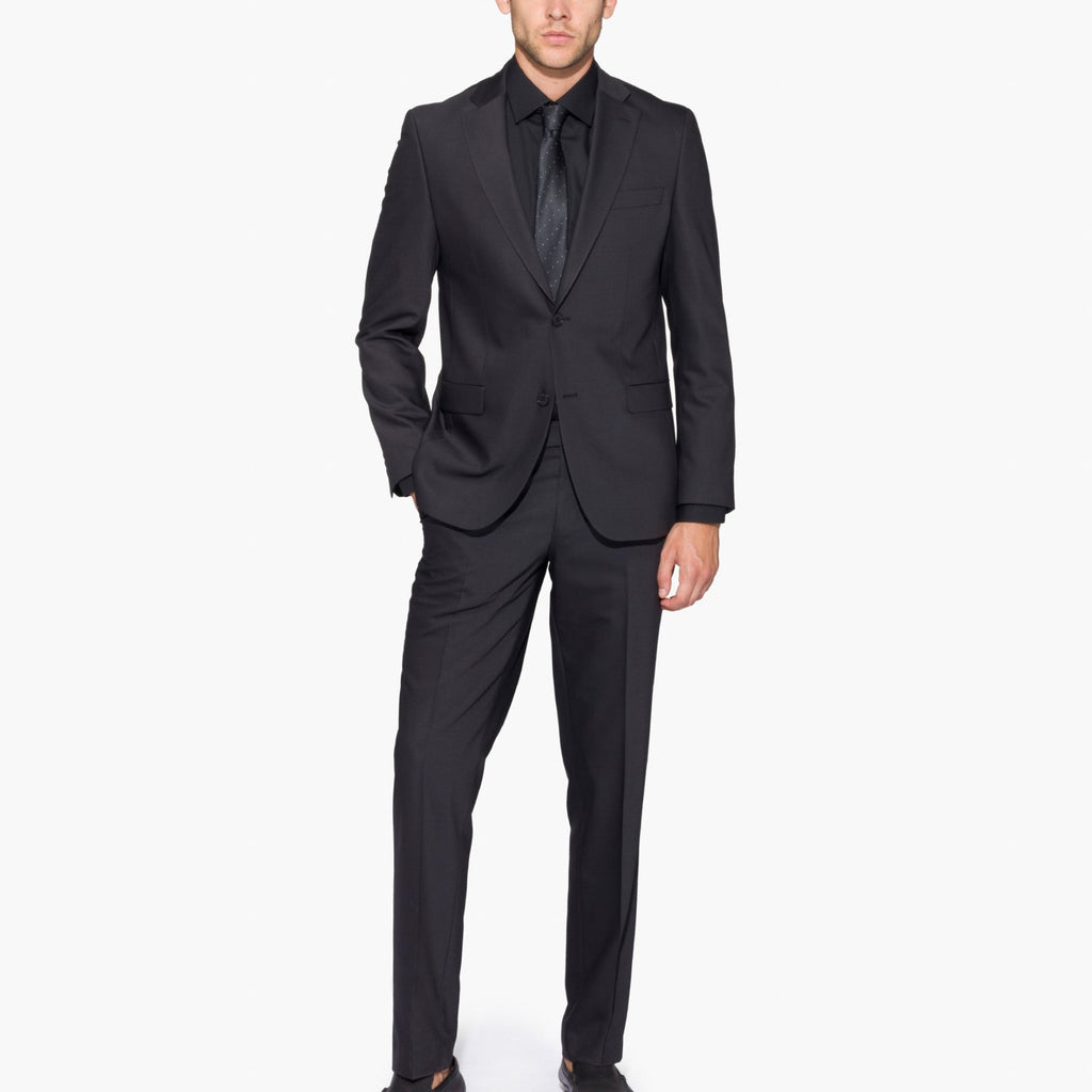Altınyıldız Slim Fit Black Wool Suit