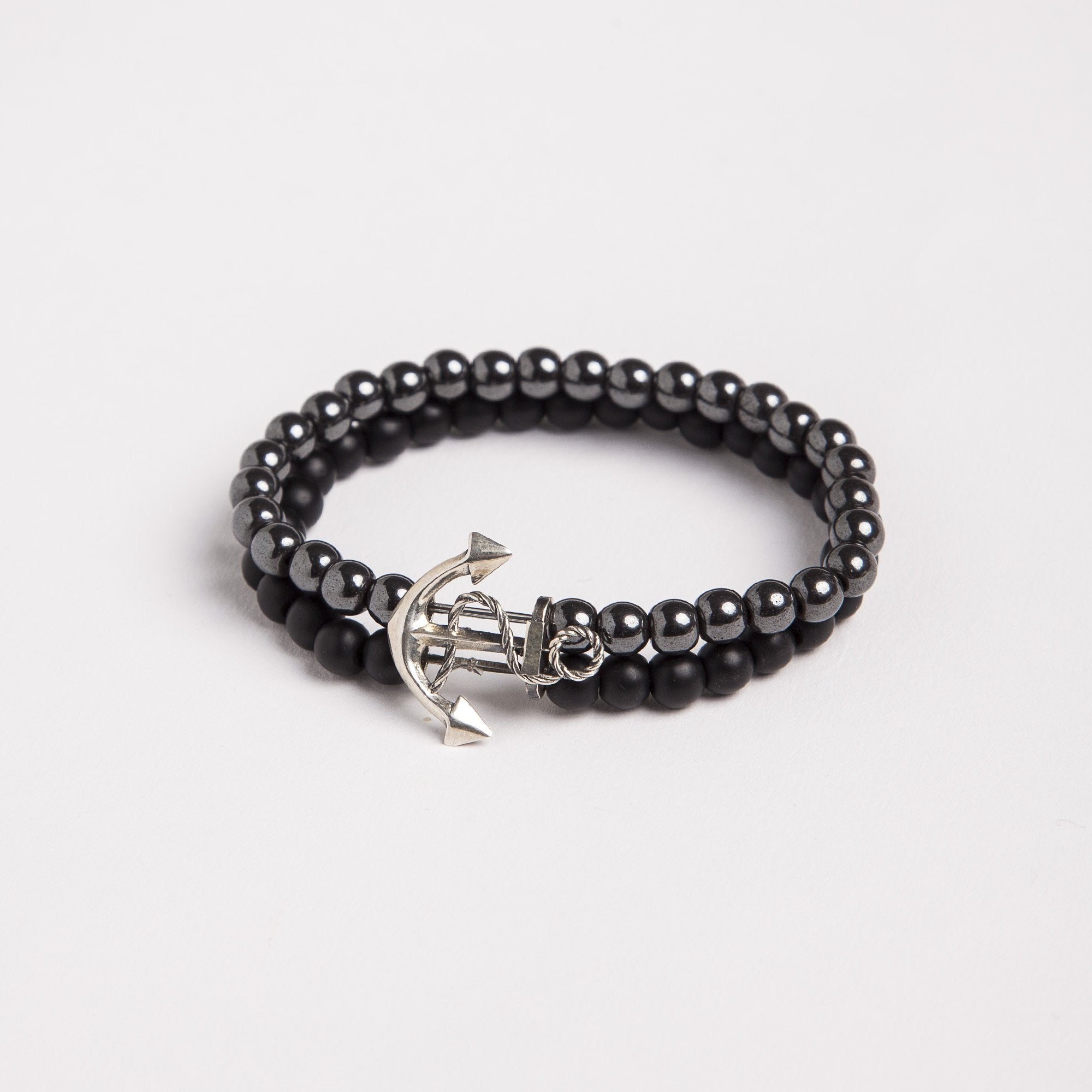 anchor-925-silver-natural-stone-bracelet
