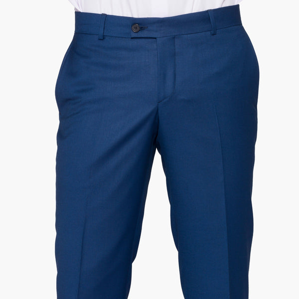 Slim Fit Blue Trouser