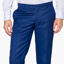 Load image into Gallery viewer, Slim Fit Saxe Blue Trouser