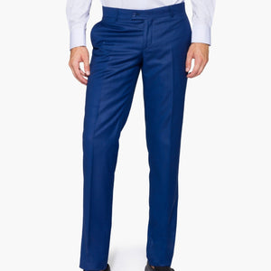 Slim Fit Saxe Blue Trouser