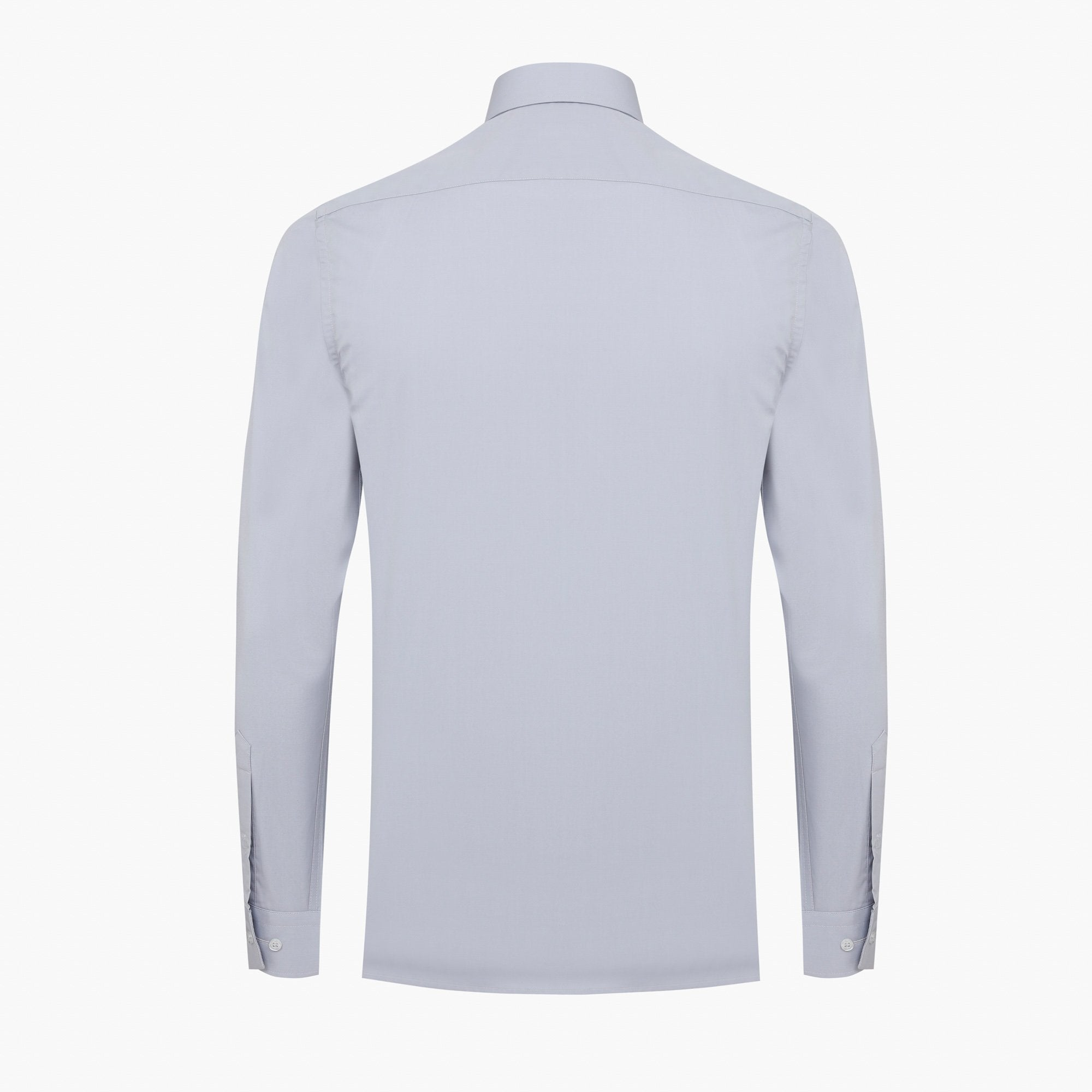Grey Slim Fit Dress Shirt