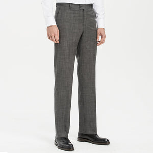 Altınyıldız Regular Fit End-on-end Grey %88 Wool Trouser