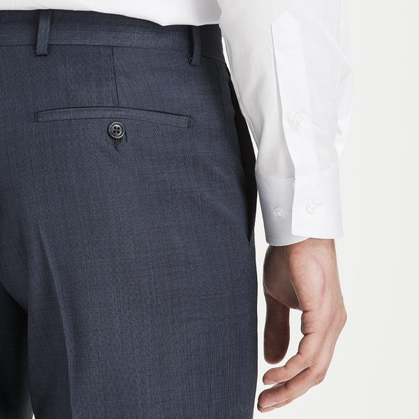 Altınyıldız Regular Fit End-on-end Dark Blue %88 Wool Trouser