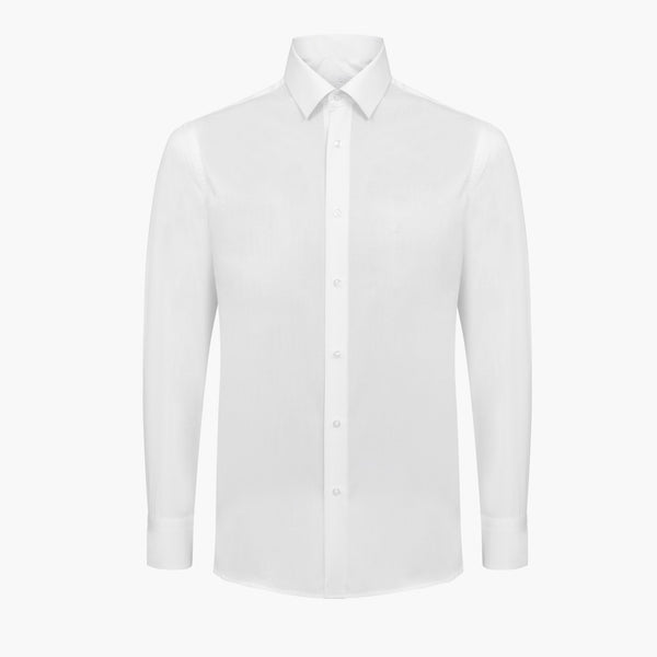 Ivory Slim Fit Dress Shirt