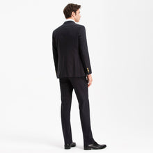 Load image into Gallery viewer, Slim Fit Dark Navy 43% Wool Blazer