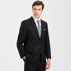 Yoonix İpekiş Regular Fit % 100 Wool Navy Suit