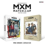 MXM - [Match Up] 2nd Mini Album Random CD+1p Mini Poster(On)+80p Photobook+2p Photo Card+1p Photo Stand+Pre-Order Item(Photo Sheet&Polaroid) K-POP SEALED