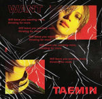 Shinee Taemin - [Want] 2nd Mini Album 2 Ver SET CD+Booklet+PhotoCard+1p Paper Stand+Tracking K-POP Sealed