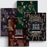 Super Junior The Renaissance 10th Album The Renaissance Style 4 Version SET CD+PhotoBook+1p PostCard+2p PhotoCard+Message PhotoCard SET+Tracking Kpop Sealed
