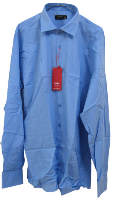 Men's azure blue dress shirt