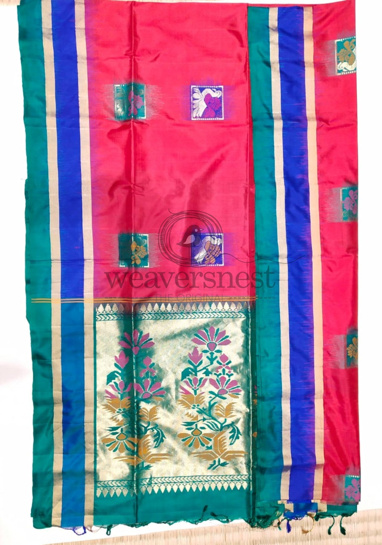 Double Border Soft Silk Saree