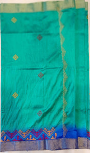 Embroidered Kota Cotton Saree