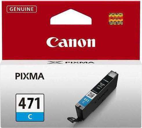 Canon 471XL C High Yield Ink Cartridge