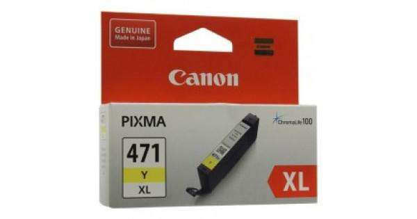 Canon 471XL Y High Yield Ink Cartridge