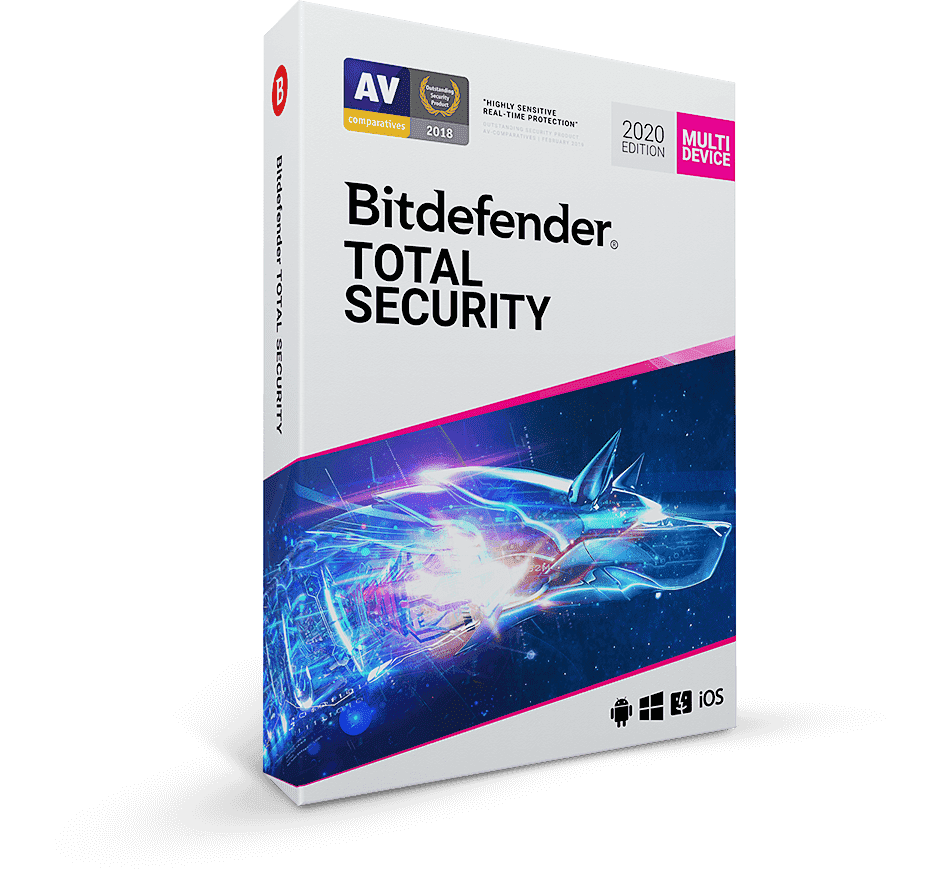 Bitdefender Antivirus Total Security 5 User SERIAL KEY
