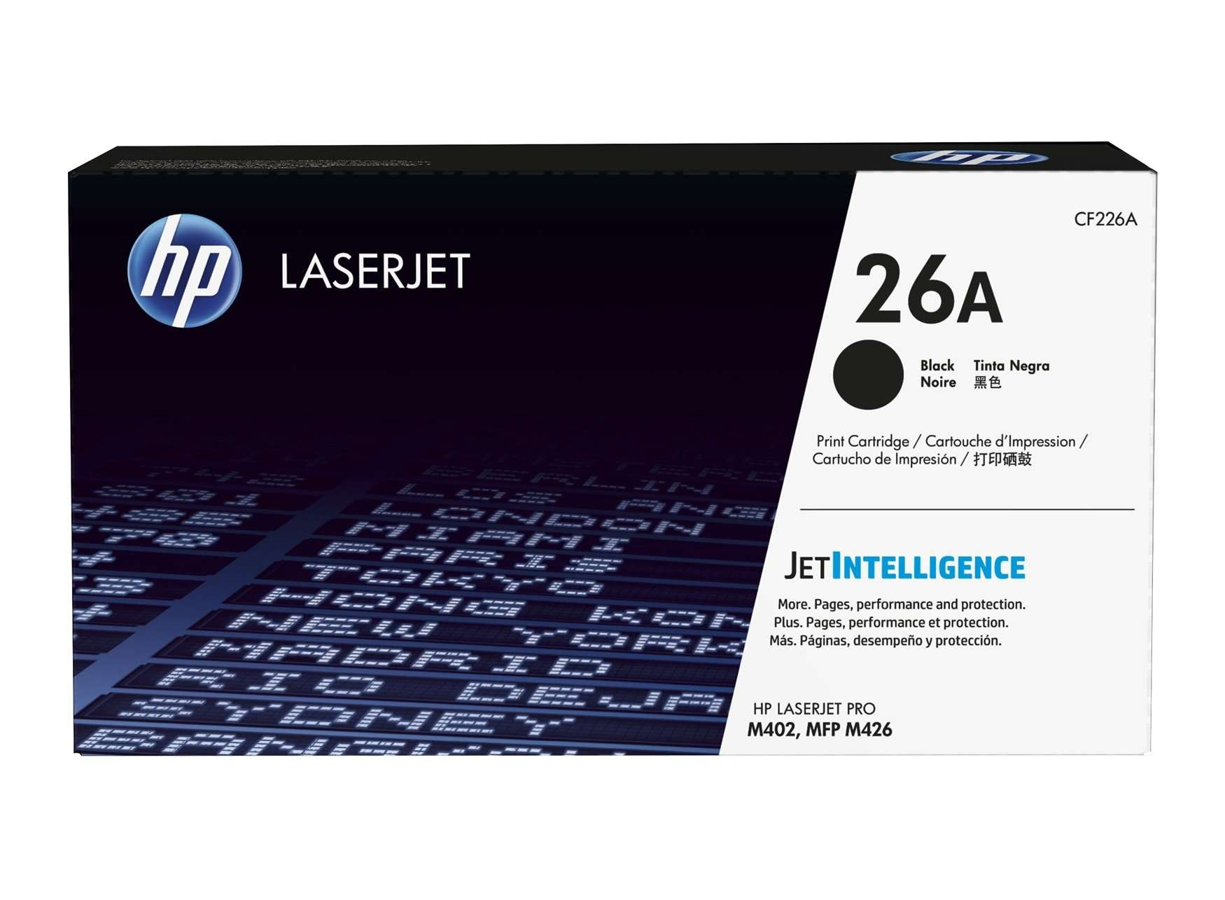 HP 26A - CF226A BK Toner Cartridge