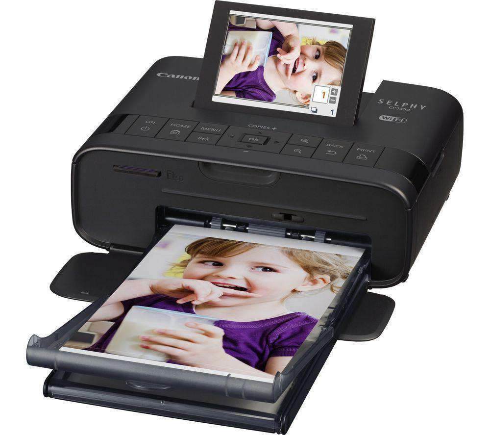 Canon SELPHY CP1300 mobile photo Printer