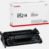 Canon 052H BK High Yield Toner Cartridge