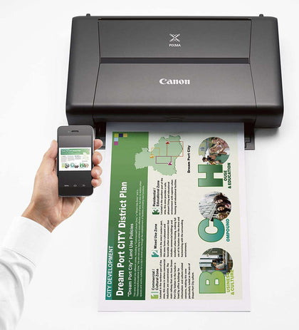 Canon PIXMA IP110W mobile Colour Ink Printer