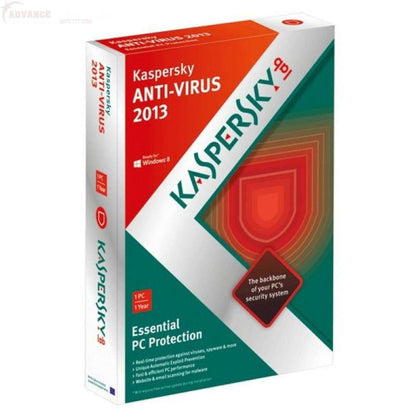 Kaspersky Antivirus Internet Security 2 User Disc