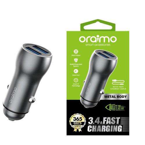 Oraimo 3.5A Fast Charging USB Car Charger
