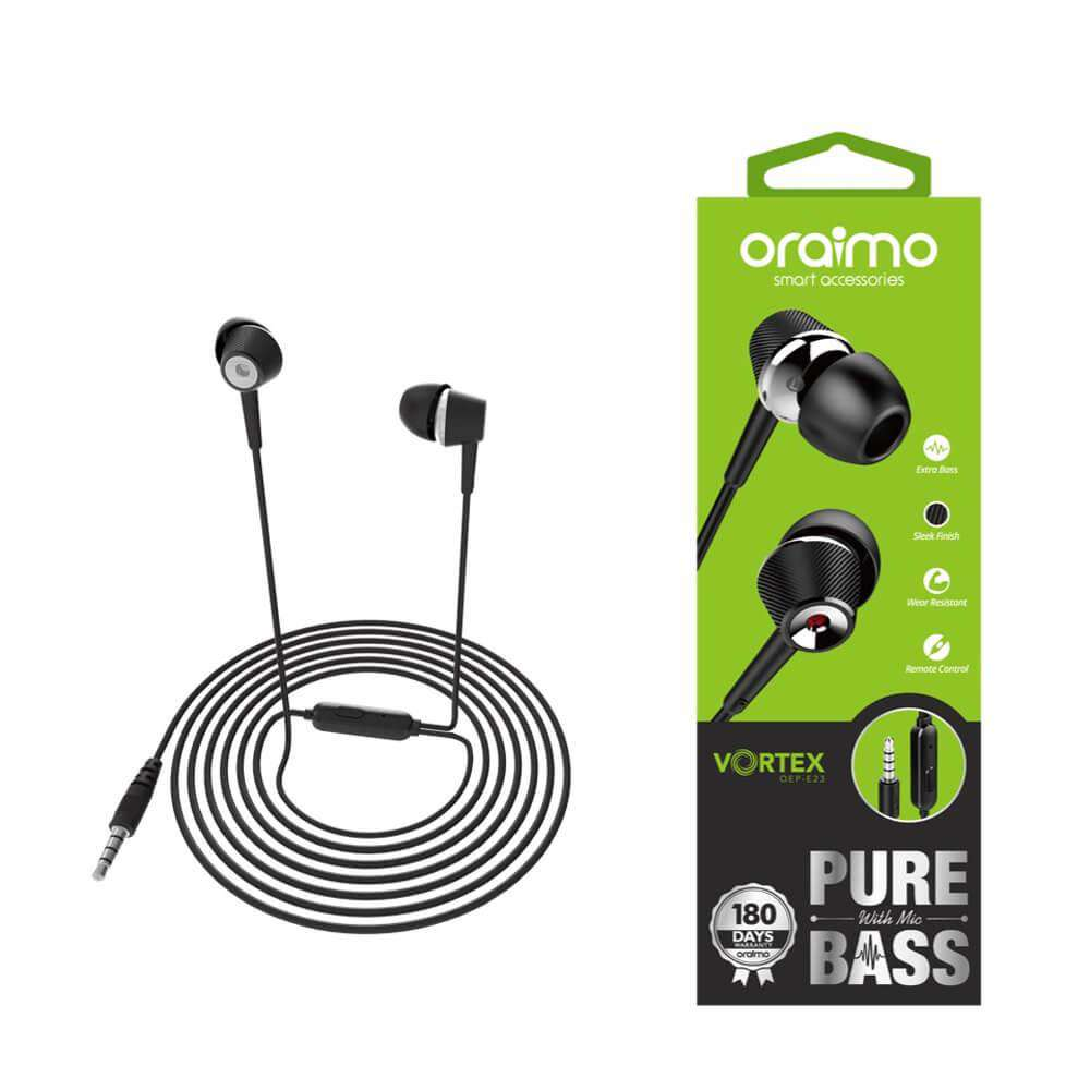 Oriamo Vortex Pure Bass Earphone